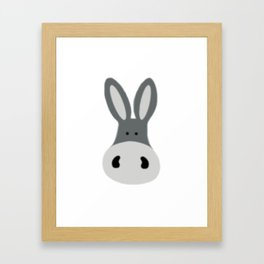 Charlie the Donkey Framed Art Print