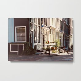 Street corner Metal Print