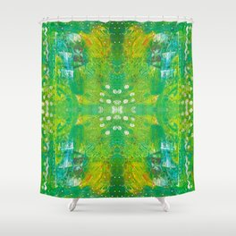 Kiwi Fantasy Shower Curtain