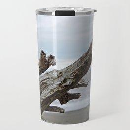 Natural Driftwood Travel Mug