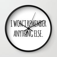 lesbian Wall Clocks featuring Lesbian quote by Saccaroz