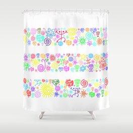 Heaven color Shower Curtain