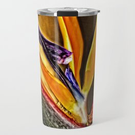 Bird Talk - Bird Of Paradise By Sharon Cummings Travel Mug
