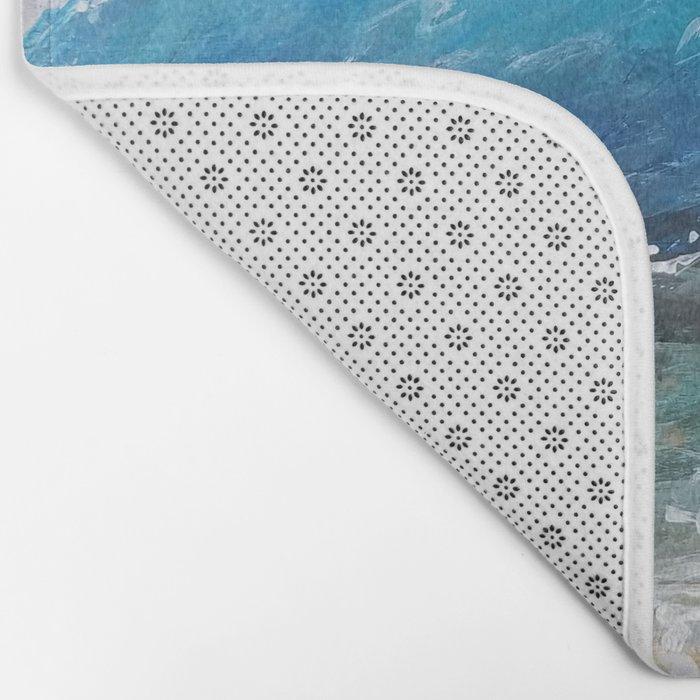 Rough Sea Bath Mat
