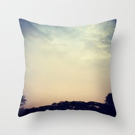 the perfect gradient-painter Throw Pillow