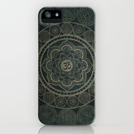 Circular Connections iPhone Case