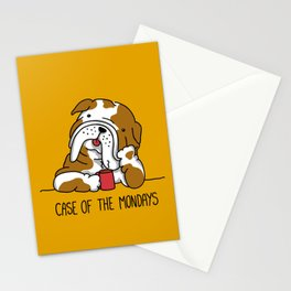 Case of the Mondays Stationery Cards