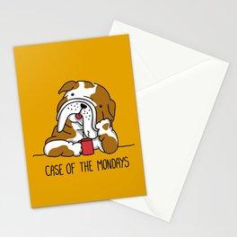 Case of the Mondays Stationery Cards