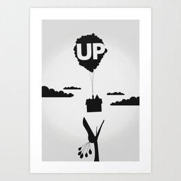 Pixar's UP Art Print