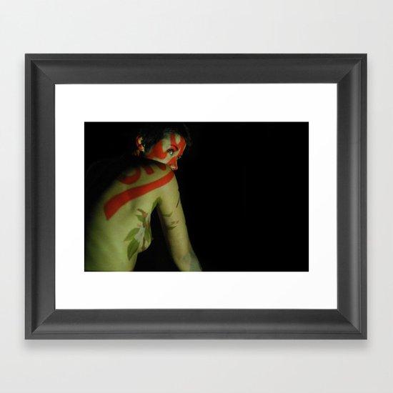 Seeing Red Framed Art Print