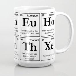 Fun Facts of the Elements Coffee Mug