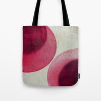 circles Tote Bags featuring circles by Claudia Drossert