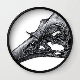 Bird Skeleton Wall Clock