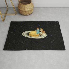 Stroll on Saturn Rug