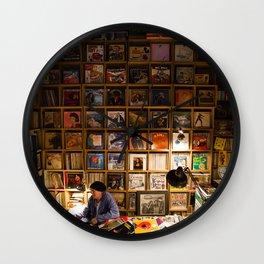 Vinyl Wall #3 Wall Clock