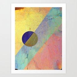 Hipster Solar Flare Art Print