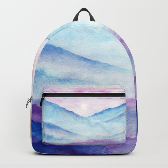 Abstract nature 04 Backpack