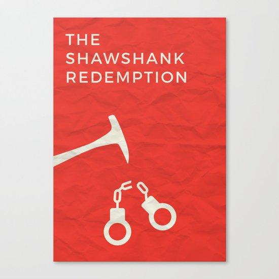 The Shawshank Redemption Minimalist Poster Canvas Print