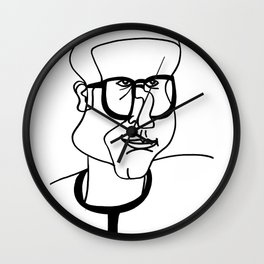 Dad Wall Clock
