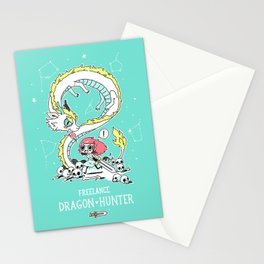 Dragon Hunter Stationery Cards