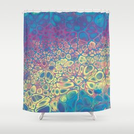 Fluid Color Shower Curtain