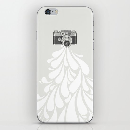 Worth a thousand words iPhone & iPod Skin