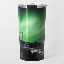 Aurora in Lofoten, Norway (II) Travel Mug