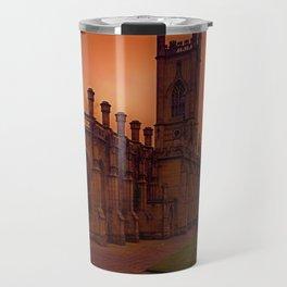 WW2 Bombed out Church Travel Mug