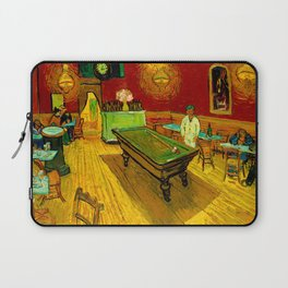 The Night Cafe by Vincent van Gogh Laptop Sleeve