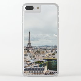 Romance city Clear iPhone Case