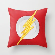 Flash Food Throw Pillow
