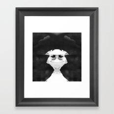 Weird in your Eyes Framed Art Print