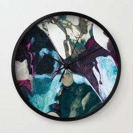 Arctic Chameleon Wall Clock