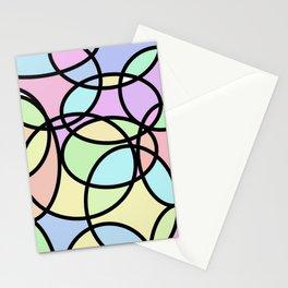 circle of life geometric print design Stationery Cards