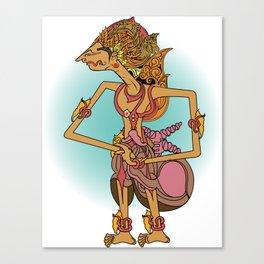 Wayang Adipati Karna Canvas Print
