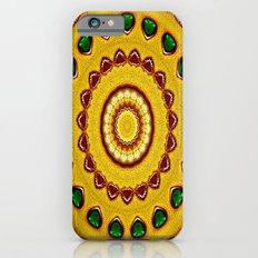 Golden Jewel with Emerald stones  Slim Case iPhone 6s