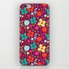 Floral Burst iPhone & iPod Skin