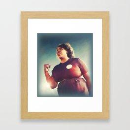 Fannie Lou Hamer, Civil Rights Framed Art Print
