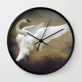 Standing Proud Wall Clock