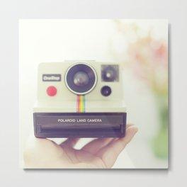 Polaroid Love. Metal Print