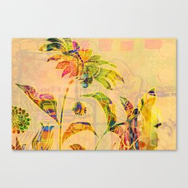 Sungold Sunflower Canvas Print