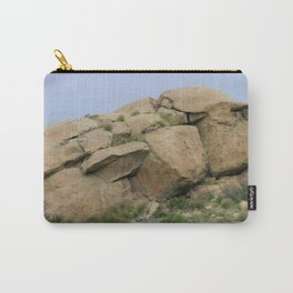 Rock Face Carry-All Pouch