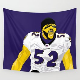 Ray Lewis Wall Tapestry