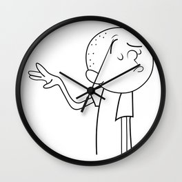 Karl Pilkington Wall Clock