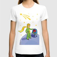 little prince T-shirts featuring Little prince by Dennis Morgan