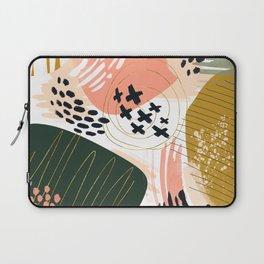 Brushstrokes abstract art III Laptop Sleeve