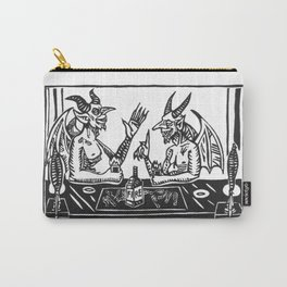 Two Devils Putting the World to Rights Carry-All Pouch
