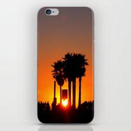 Venice Beach Sunset iPhone Skin