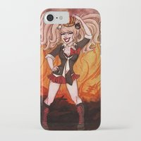 dangan ronpa iPhone & iPod Cases featuring Killer Queen by Katelyn Visnaw