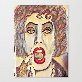 Dr. Frankenfurter Canvas Print